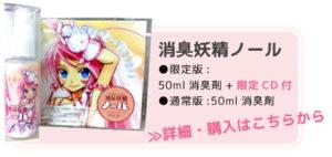 消臭妖精ノール限定版50ml消臭剤+限定CD付